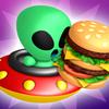 Alien Loves Hamburgers