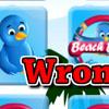 Beach Birds Flip Flop