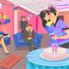 Birthday Kissing