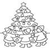 Coloring Christmas trees -1