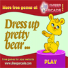 Dress up pretty bear