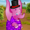 Elephant Dressup Game