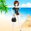 Fashionable-girl-on-the-beach