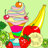 Ice-Cream Sundae Coloring