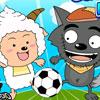 Lazy Goat and Big Big Wolf Soccer War