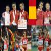 Nuria Fernandez champion at 1500 m, Barcelona 2010 Puzzle