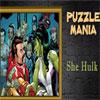 Puzzle Mania She Hulk