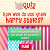 Quiz- Do You Know Harry Styles