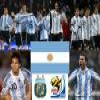Selection of Argentina, Group B, South Africa 2010 Puzzle