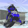 Snowmobile race