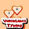Valentines Day Typing Game