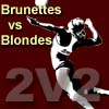 2x2Volleyball (Blondes vs Brunettes)