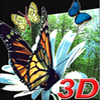 3D Real Puzzle  butterfly