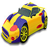 Amazing sport car coloring