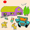 Animals and farm coloring