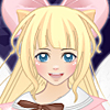 Anime magical girl dress up game
