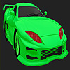 Best concept  green car coloring