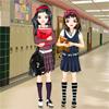 Best Friends In High School Dress Up