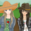 Bff in the Farm dress up game