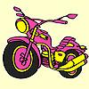 Big express motorbike coloring