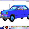 Big Old Car Coloring