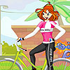 Bloom Biker Girl