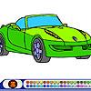 Cabrio Car Coloring