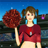 Cheerleader Girl Dress Up