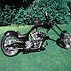 chopper motorbike