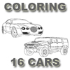 Coloring 16 Cars