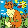 Fox Color - Free Coloring