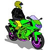 Coloring Motorbike