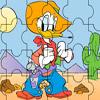 Cowboy Donald Jigsaw Puzzle