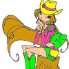 CowGirl Coloring
