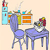 Cute kitchen coloring