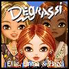 Ellie, Emma & Hazel Dressup