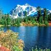 Dream Lake Sliding Puzzle