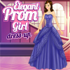 Elegant Prom Girl Dress Up