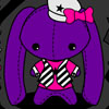 Emo Cheap Bunny Plush