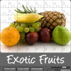 Exotic fruits jigsaw
