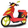 Fantastic motorcycle coloring