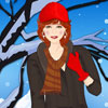 Fashionable Winter Girl Dress Up