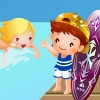 five star hotels children pool decoration