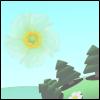 Flowers rain