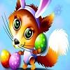 Fox Bunny Sliding Puzzle