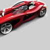 Futuristic phoenix car