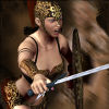 Gladiator Girl Dress Up