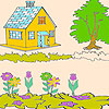 Great Home coloring
