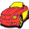 Great real car coloring