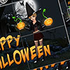 Happy Halloween Sliding Puzzle